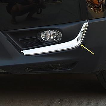 fits 2017-2019 Honda CRV CR-V Stainless Steel Front Fog lamp Light Lower Trim