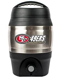 NFL San Francisco 49ers 1 Gallon Tailgate Keg
