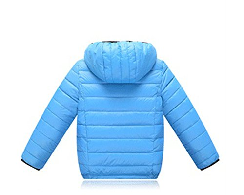 Blue Coat Winter Jacket Chic Lightweight Blue Lemonkids;® Anoraks Down Children Hooded BA7wvq