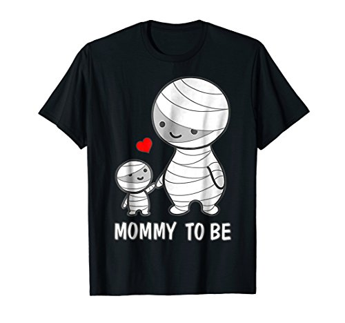Mummy To Be T-Shirt - Cute Funny Halloween