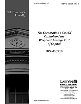 weighted cost of capital pdf