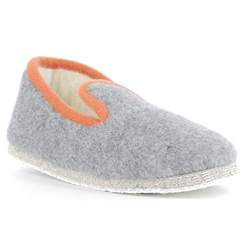 Calmont Rondinaud Chaussons Clair Mixte Gris Bas Adulte zqaqxTn
