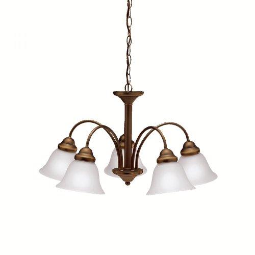 Kichler Lighting 2093OZ 5 Light Wynberg Chandelier, Olde Bronze