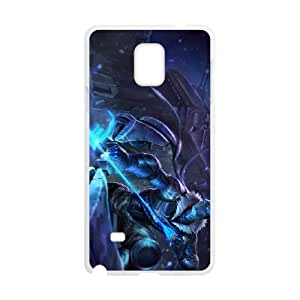 Samsung Galaxy Note 4 Cell Phone Case White League of Legends Arctic Ops Varus SH3097060