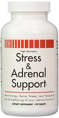Amazon.com: Stress And Adrenal Support - 90 Chewable Tablets By ...
