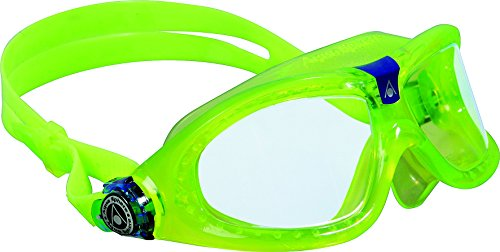 Aqua Sphere Seal Kid 2 Swim Goggle, Clear Lens / Lime new - New Swimming Goggles