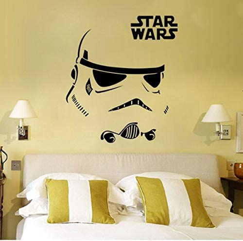 Star Wars Wall Decal Stickers Decor Face Pattern Stickers For Living Room Kids Bedroom Wallpaper Price In Uae Amazon Uae Kanbkam