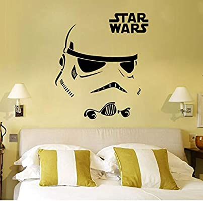 Star Wars Wall Decal Stickers Decor Face Pattern Stickers For Living Room Kids Bedroom Wallpaper Buy Online At Best Price In Uae Amazon Ae