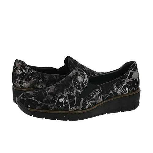 Rieker Boots Synthetic Black Multi Fabric 53766 45 Womens rZAagqr