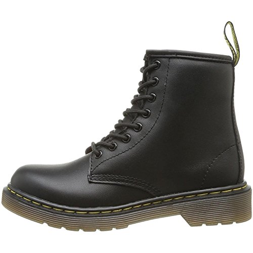 Dr. Martens Delaney Y Black Leather Youth Ankle Boots