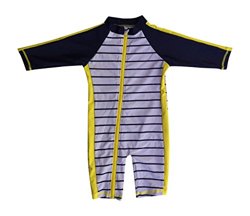 Large Product Image of SwimZip Little Boy Long Sleeve Sunsuit With UPF 50 Sun Protection