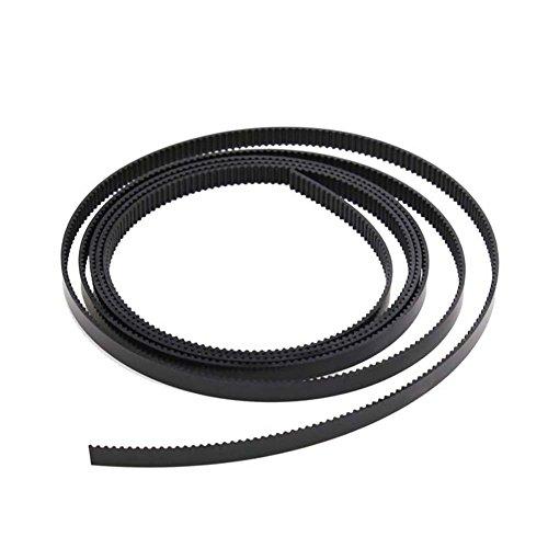 Zamtac 10pcs 1M GT2 Open Timing Belt Width 6mm Rubber Loop Belts for 3D Printer SD998 - (Color: Green) by GIMAX (Image #3)