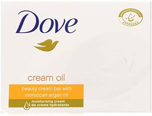 Bar Soap: Dove Beauty Bar Cream Oil