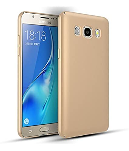 new products 451ad a09ae Samsung J1 4G (2016) Back Cover, Johra 4 Cut All Sides Protection Sleek  Gold Golden Hard Case Back Cover for Samsung J1 4G Back Cover