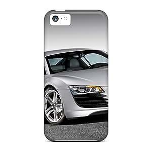 Bumper Hard Phone Case For Iphone 5c With Unique Design Beautiful Audi R8 Skin JohnPrimeauMaurice
