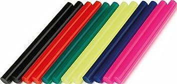 Dremel GG05 - Barras de cola de color multiusos, pack de 12 barras de 7 mm negro,