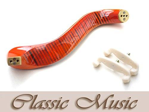 Classic Music Flamed Maple Shoulder Rest for Viola (16'-16.5')