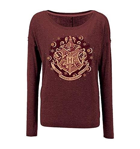 Sweat-Shirt Femme Harry Potter Seasons Hogwarts Blazon