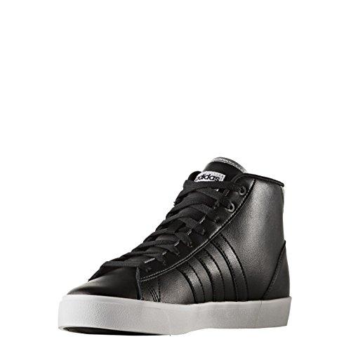 adidas Cloudfoam Daily Qt Mid W, Sneaker a Collo Basso Donna, Nero (Negbas/Negbas/Plamet), 40 EU