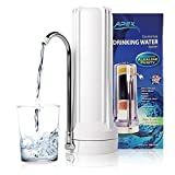 APEX Countertop Drinking Water Filter - Alkaline (White)