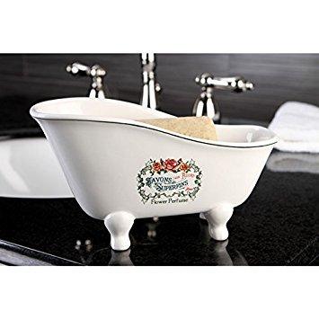 - Savons Aux Fleurs Slipper Clawfoot Tub Soap Dish