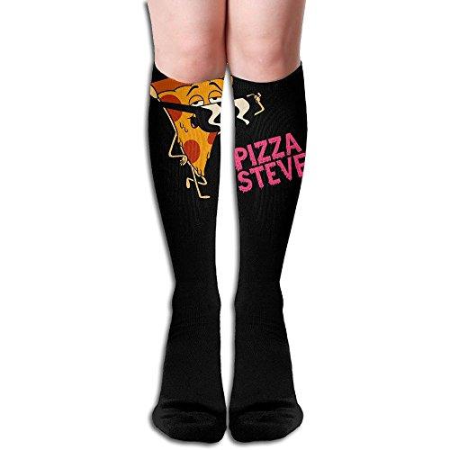 ZHONGJIAN Unisex Knee High Long Socks Cartoon Character Cute Male Sunglasses Pizza Steve Sport Wrist Socks Length - Cartoon Characters With Glasses