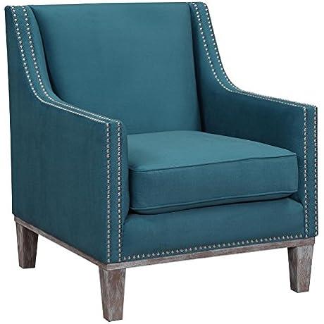 Abbey Avenue A Dav 816DAC Davis Accent Chair In Teal