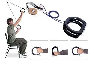 MarV overdoor pulley kit: pulley, rope, 2 MarV handles
