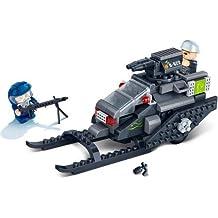 BanBao Mission Eagle Snow Trooper Playset