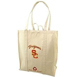 USC Trojans Natural Resuable Organic Tote Bag
