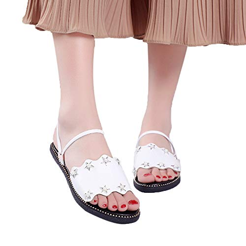 Xinantime Women Summer Leisure Shoes Casual Gladiator Flat Sandals Slippers Indoor Outdoor ()