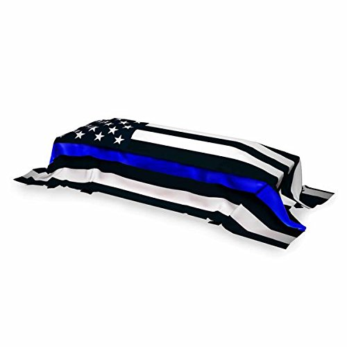 Pointview Flags Memorial Flag - Thin Blue Line American Flag, 5