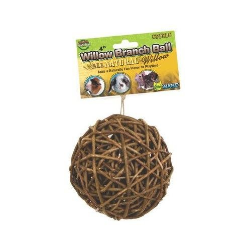(Willow Branch Ball for Small Animals Pack of 3)
