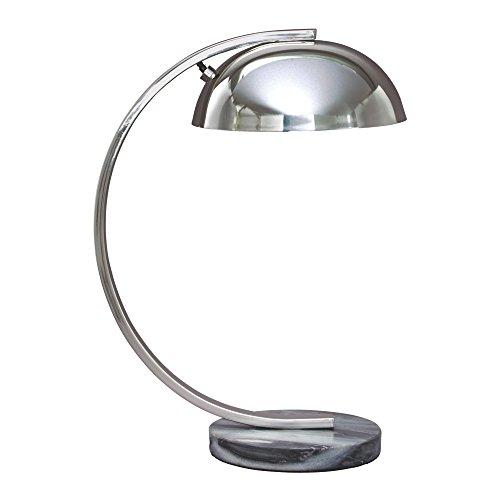 Ashley Furniture Signature Design - Haden Metal Desk Lamp - Task Lighting -  Chrome
