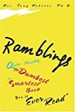 Ramblings, Tony Roberts, 0595299482