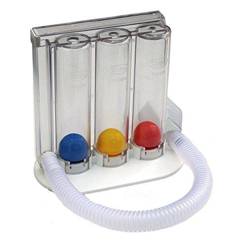 HealthAndYoga(TM) Deep Breathing Exerciser | Breath Exercise Measurement System