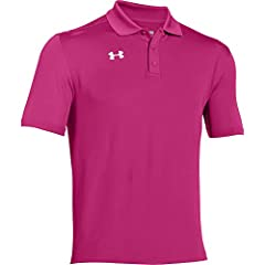 Your favorite classic Under Armour polo now with an updated looser fit. An essential polo for time out on the links, or even just for a sleek look after your round in the clubhouse.