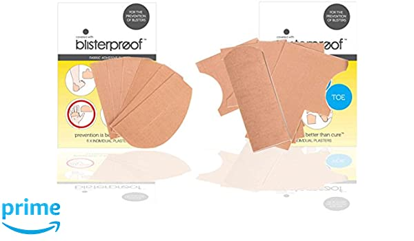 amazon com blisterproof blister prevention kits 1 hand and 1 toe Cold Sore Diagram