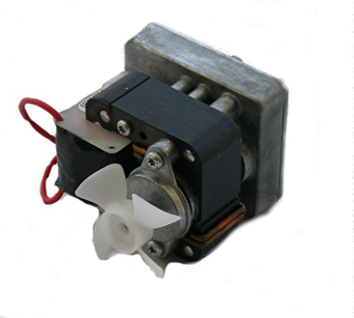 110v 1ph 60Hz Fan Cooled Motor for Abanaki Lil' Blue Belt Oil Skimmer (60 Hz Belt)