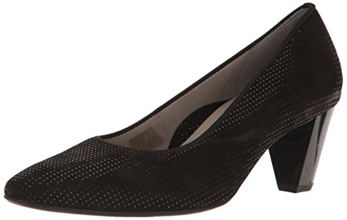 ara Women's Paulina Pump, Black Puntikid, 6 M US ()