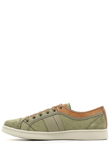 Geox U620LANB22 Sneakers Uomo Camoscio/Tessuto Sage Sage 45