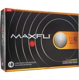 2016 Maxfli U/6 Tour Soft Golf Balls (12 Pack)