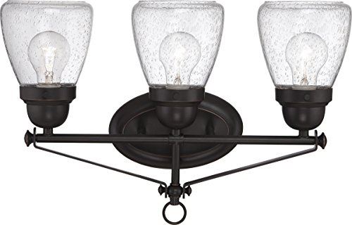 (Bathroom Vanity 3 Light with Sudbury Bronze Finish E12 Incandescent 19 inch 180 Watts)