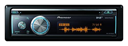Pioneer DEH-X8700DAB CD-Tuner (Bluetooth, USB, AUX, Apple iPod/iPhone Direktsteuerung, MIXTRAX EZ, DAB+ Tuner, Android Media Access, 200 Watt)