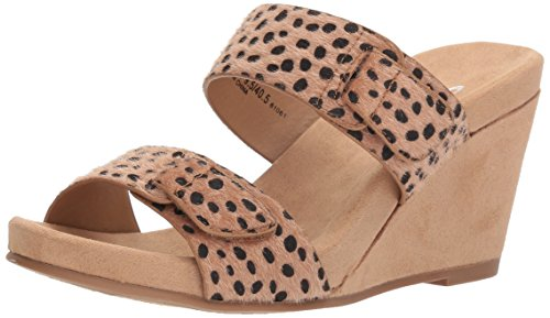 Cl De Chinese Laundry Mujeres Team Player Wedge Sandal Cheetah