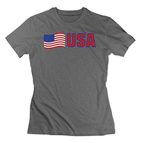 L572 Usa Kontur 3c Tee For Women L DeepHeather by L572