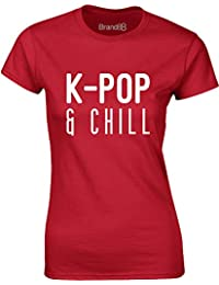 Brand88 - K-Pop & Chill, Ladies T-Shirt