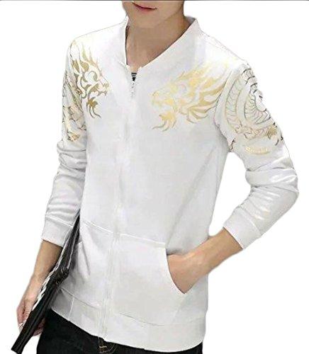 Generic Sleeve Outcoat Zip Fleece Long Up Slim Jacket Long Mens Sleeve Fit 2 rvzrg
