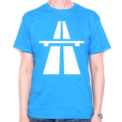 Kraftwerk Autobahn Blue T Shirt for Men