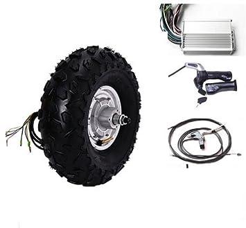 GZFTM 14.5 Pulgadas 800W 48V Scooter eléctrico Motor del Eje de la Rueda Kit de patín eléctrico 3 Ruedas Scooter eléctrico Kit: Amazon.es: Deportes y aire ...